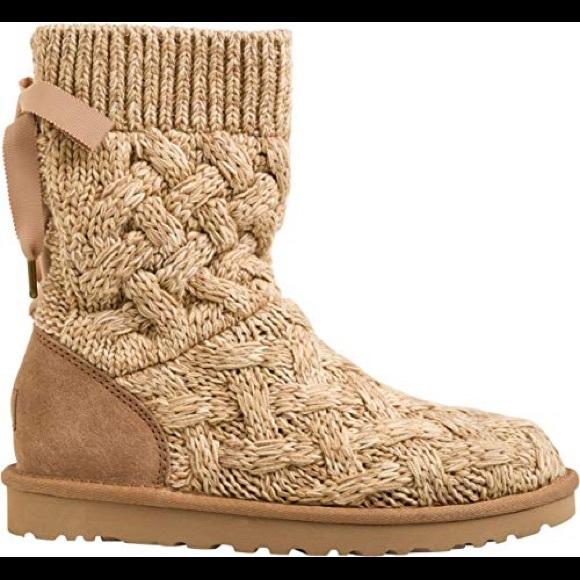 UGG Shoes | Ugg Isla Knit Booties